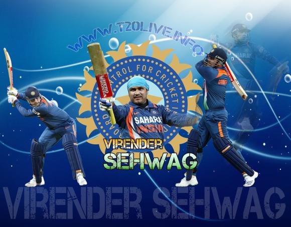 Virender Sehwag images