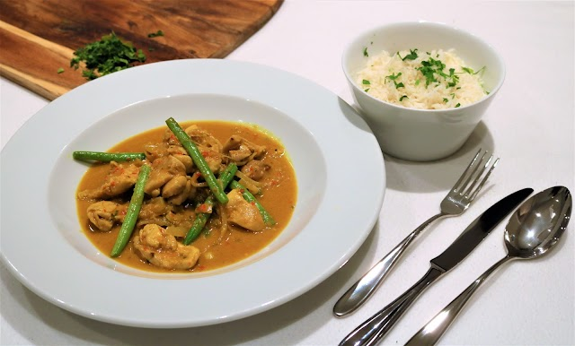South East Asian Chicken Curry