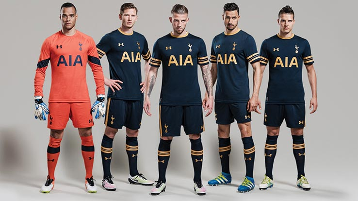 competitive price f5cf1 abd18 Tottenham 16-17 Away Kit Released - Footy Headlines