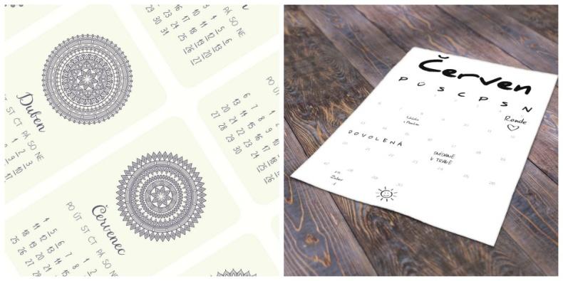 kalendáře 2016
