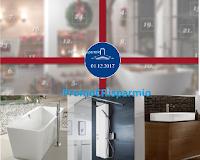 Logo Calendario dell'Avvento Villeroy&Boch : ogni giorno un premio speciale, vasca, pannello doccia e....