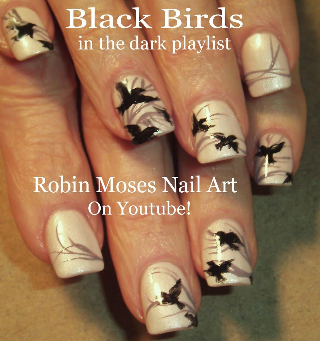 """Robin Moses Nail Art February 2015: Robin Moses Nail Art: """"Divergent Nails"""" """"Divergent Nail"""