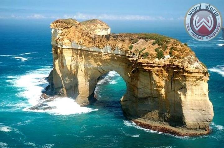 fun below sun natural london arch in australia