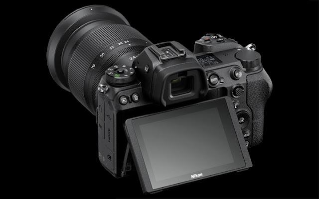 Layar LCD kamera Nikon Z7