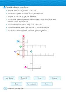 5. Sınıf Sosyal Bilgiler Ders Kitabı Cevapları Anadol Sayfa 22