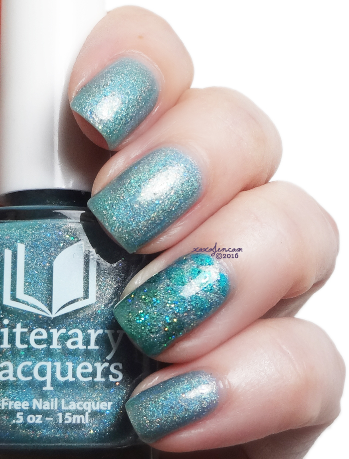 xoxoJen's swatch of Literary Lacquers Each to Each