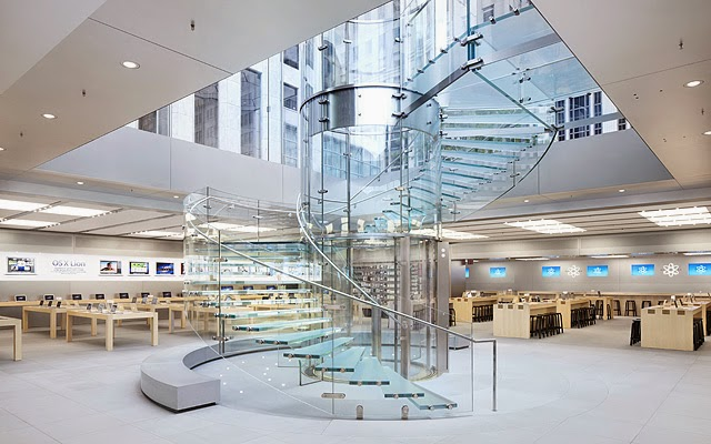La Apple Store en Nueva York
