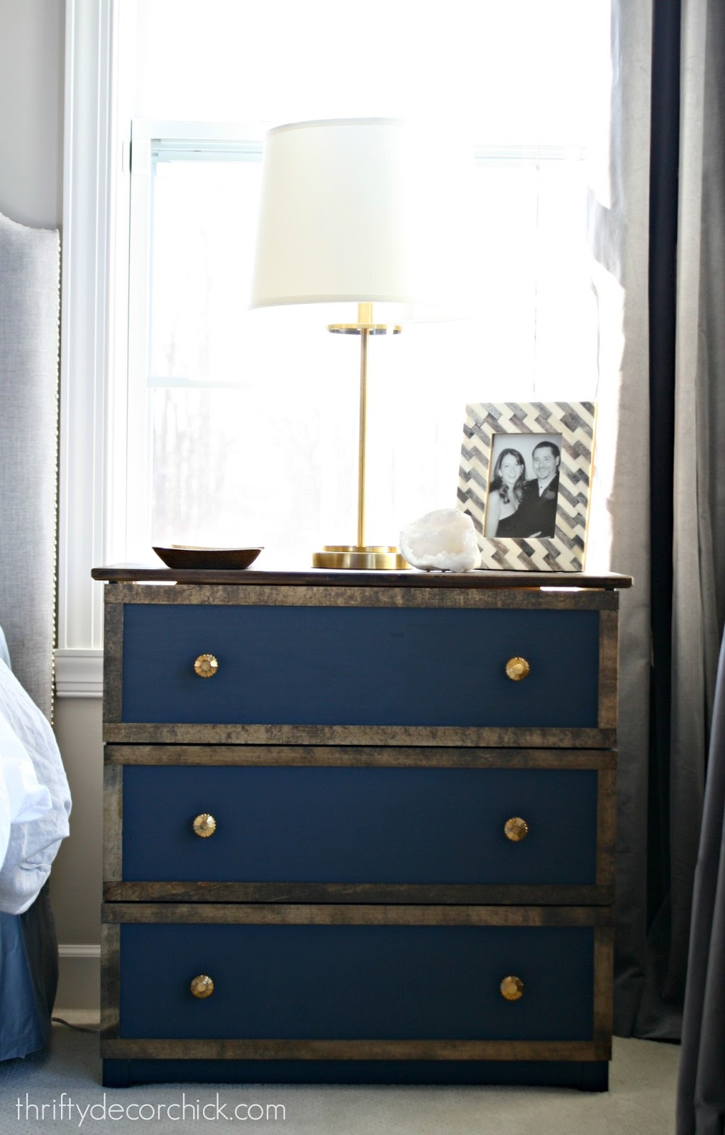 Tarva hack with paint and wood trim