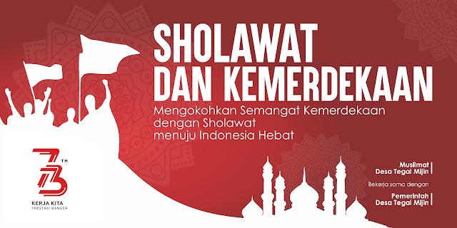 Alternatif Desain Pentas Sholawat dan Kemerdekaan