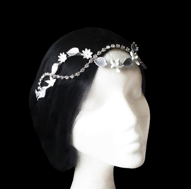 Diadema Novia · Bridal Headband