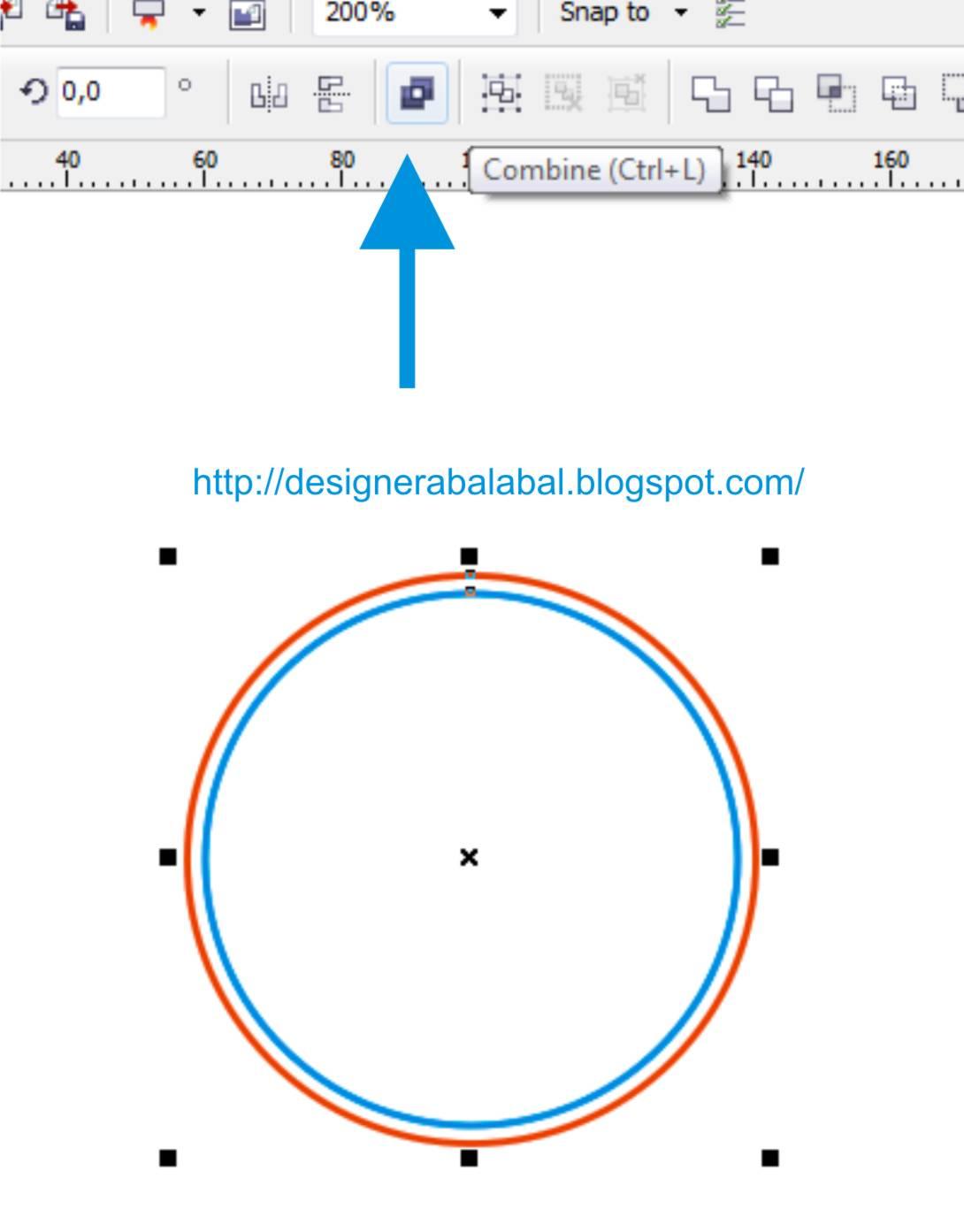 Cara Membuat Stempel Terlihat Lebih Nyata dengan CorelDRAW | Belajar CorelDRAW - #tukangketik
