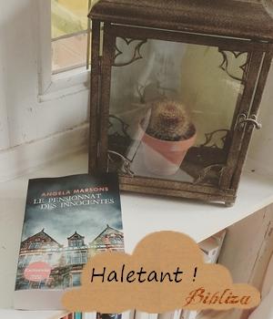 le pensionnat des innocentes Angela Marsons France Loisirs thriller anglais Crestwood avis critique chronique blog littéraire lecture