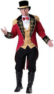 Men's Ringmaster Adult Costume for Halloween