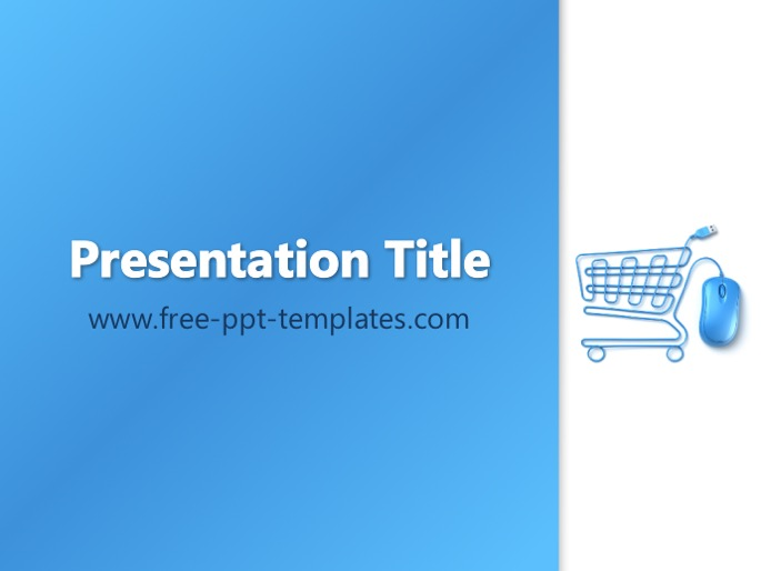 e-commerce ppt template, Presentation templates