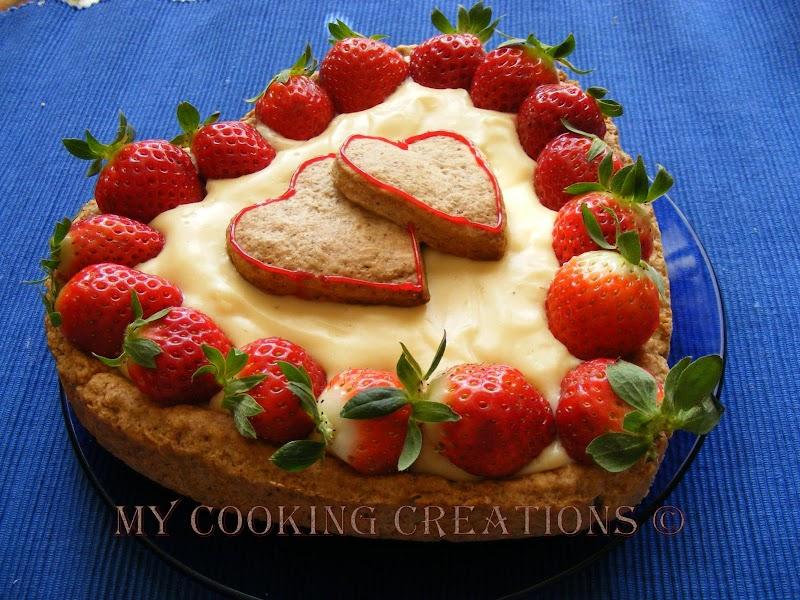 Лека ягодова тарта