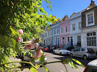notting hill summer sun day london