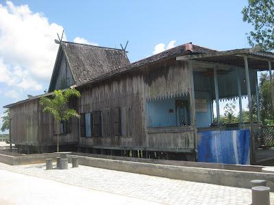 Rumah Banjar Kalimantan Selatan