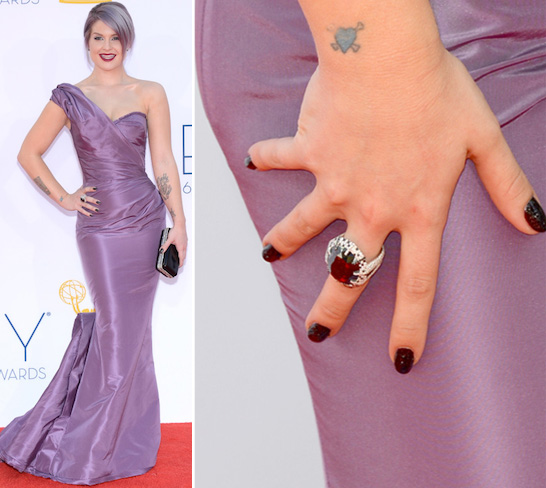 AZATURE BLACK DIAMOND NAIL POLISH - KELLY OSBOURNE