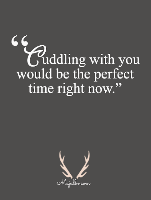 Cuddling With You Love Quotes