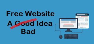 Top Reasons Why Having a Free Website is a Bad Idea