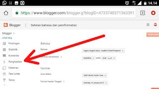 Cara mudah menambahkan menu penghsilan di blog