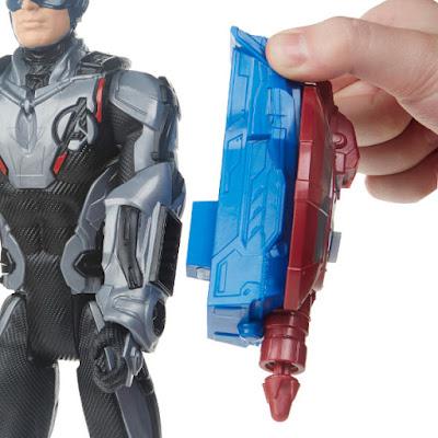 MARVEL Vengadores Endgame Capitán América | Titan Hero Series : Power FX  Figura de Acción - Muñeco Avengers : Endgame - Captain America  Produco Oficial Película 2019 | Hasbro E3301 | A partir de 4 años  COMPRAR ESTE JUGUETE
