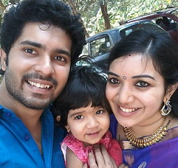 Sreeram Ramachandran -Actor  family