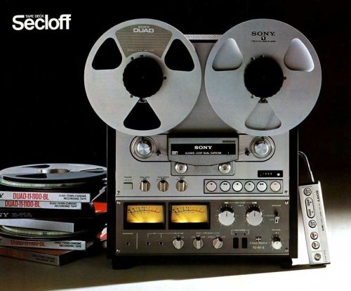 SONY TC-R7-2 (1977) - To be heard to be believed | The