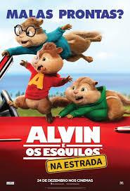 Alvin e os Esquilos: Na Estrada Dublado HD
