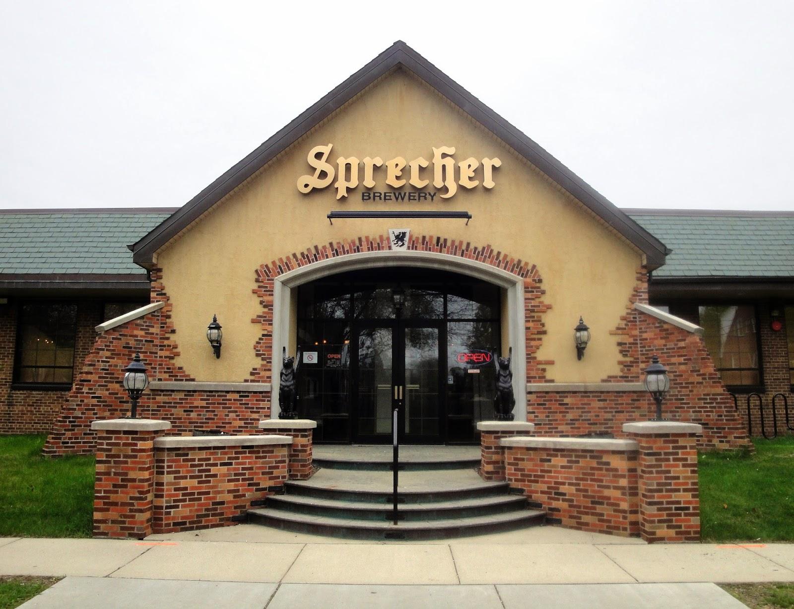 Sprecher Brewery Building New