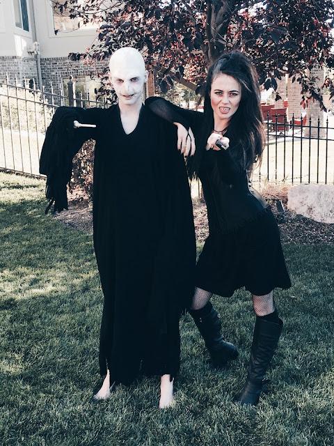 Lord Voldemort and Bellatrix