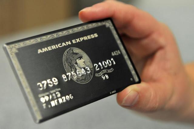 Eles querem muito: Um cartão American Express Centurion!