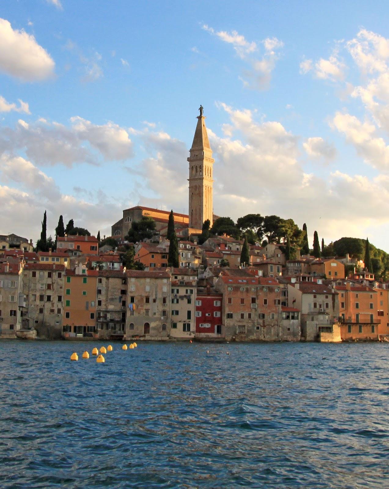 Pocztówka z Chorwacji - Rovinj