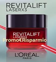 Logo Revitalift Laser x3 : richiedi un campione omaggio