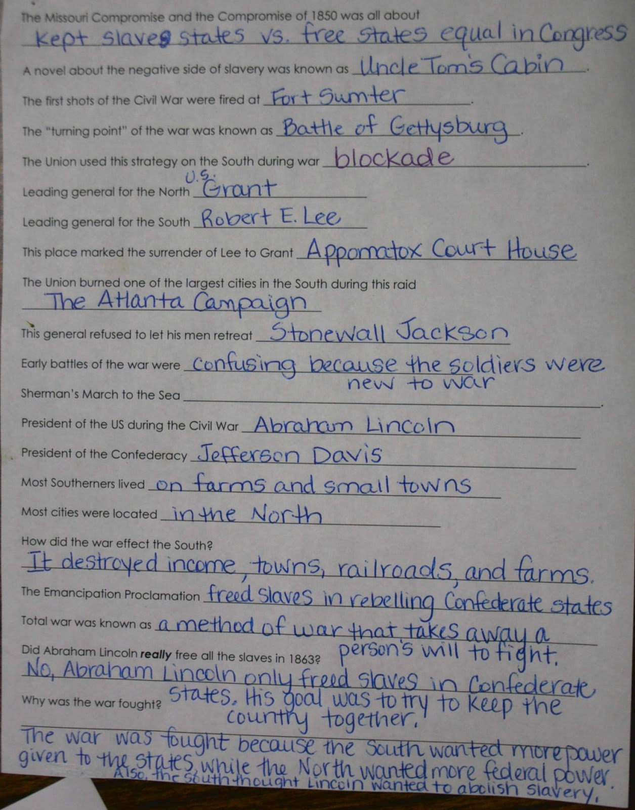 5th Grade Mbes Blog Social Stu S Notes