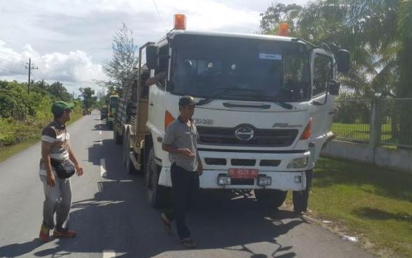 Jembatan Putus Karena Banjir Di Aceh Singkil segera dipasang yang baru secepatnya