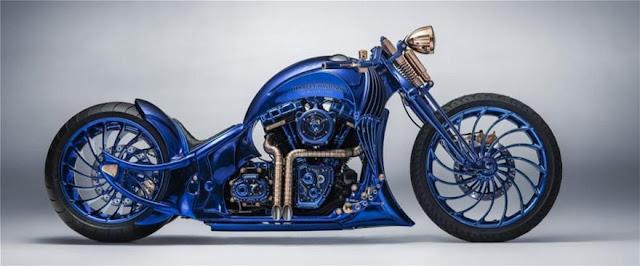 Γιατί αυτή η Harley, είναι το ακριβότερο δίκυκλο του κόσμου; (ΕΙΚΟΝΕΣ)