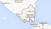 peta provinsi Lampung'