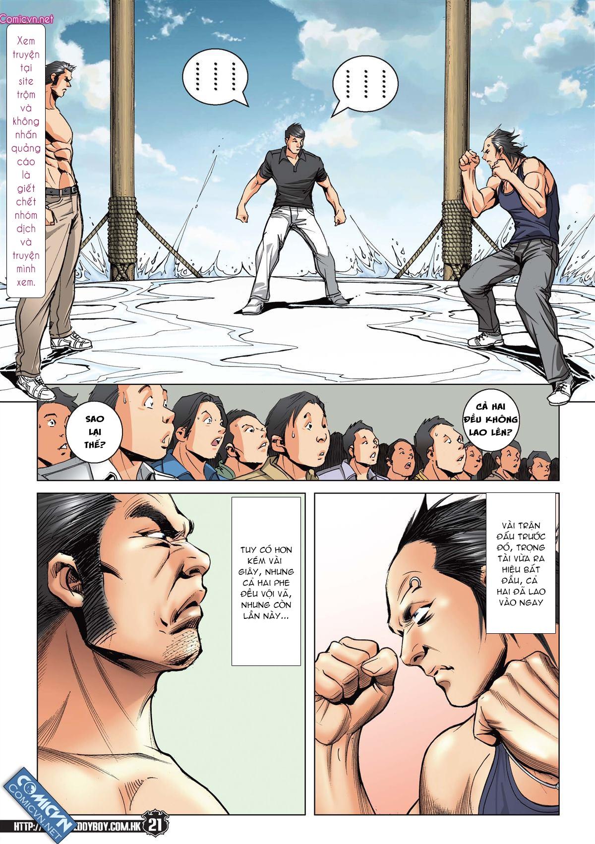 Người Trong Giang Hồ chapter 2148: tiểu mã vs gia đằng nhị trang 17