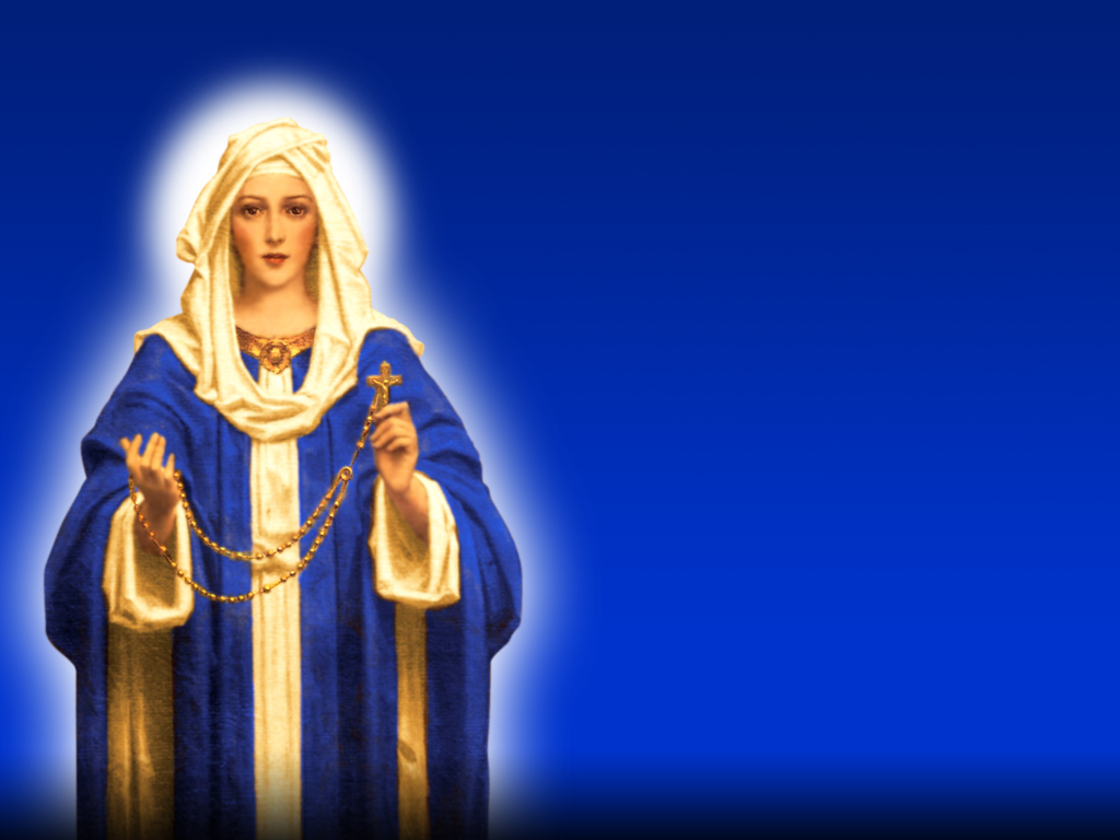 Holy Mass Images...: Our Lady Of The Holy Rosary