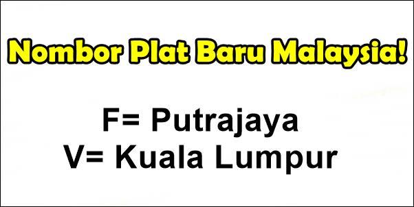 Nombor Plat Kenderaan Terkini Malaysia