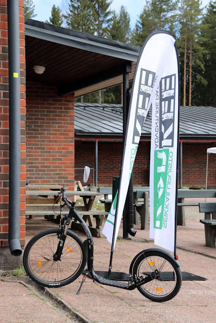 Uusi köysiseikkailupuisto avattiin Helsingin Paloheinään 21