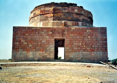 Tomb of Rupmati & Baz Bahadur, Sarangpur, Rajgarh