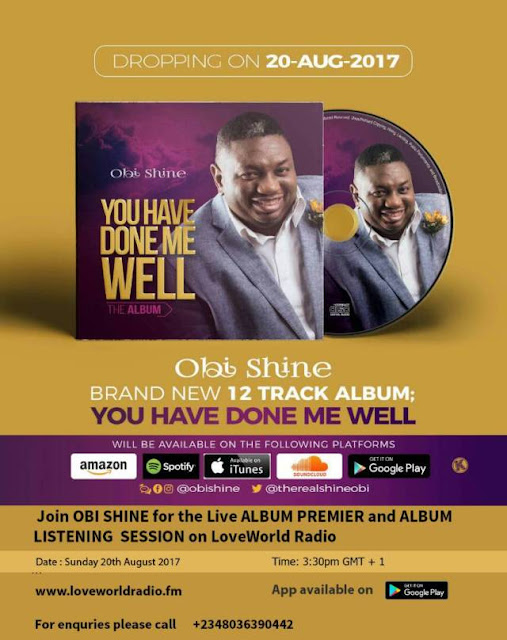 Music: You Have Done Me Well - Obi Shine