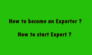 How to become an Exporter?