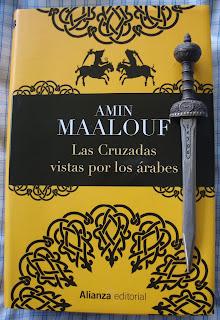 Portada del libro Las Cruzadas vistas por los árabes, de Amin Maalouf
