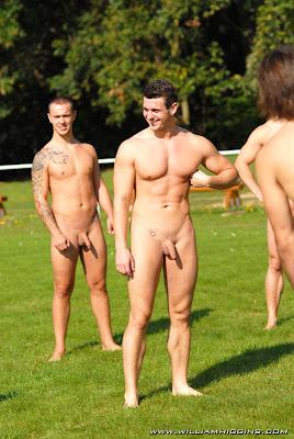 MEN Clothed to Naked Naked Soccer
