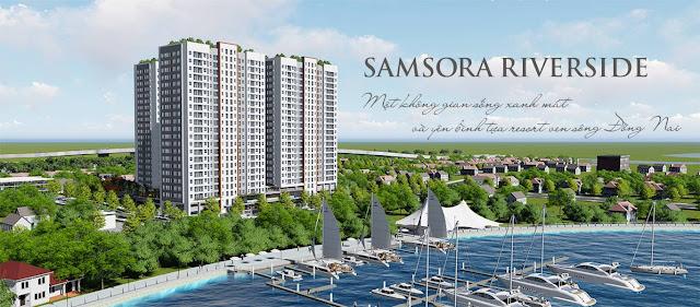 Phối cảnh chung cư Samsora Riverside