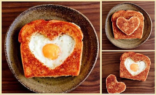 sevgiliye kahvaltı sürprizi