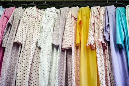 Cara Memotong Baju Gamis Paling Mudah